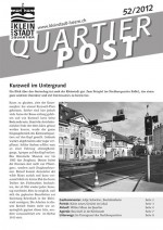 Quartierpost 52 / 2012