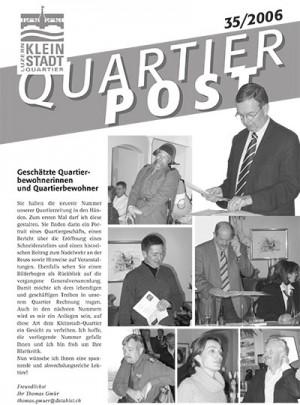 Quartierpost 35 / 2006