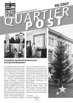Quartierpost 40 / 2007
