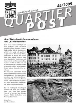 Quartierpost 45 / 2009