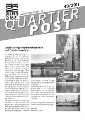 Quartierpost 49 / 2011