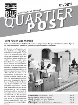 Quartierpost 51 / 2011