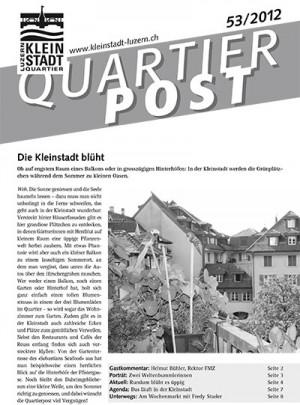 Quartierpost 53 / 2012
