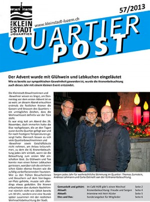Quartierpost 57 / 2013